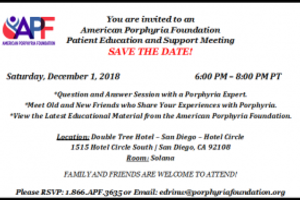 Patient Education and Support Meeting - San Diego