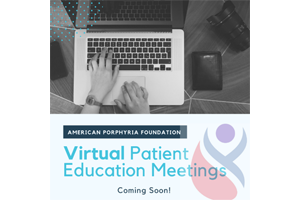 Virtual Patient Education and Support Meeting